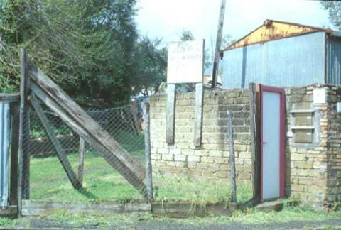Area 1005: il terreno dove la Carta dell'Agro segnala la presenza di un casale e di materiale archeologico erratico