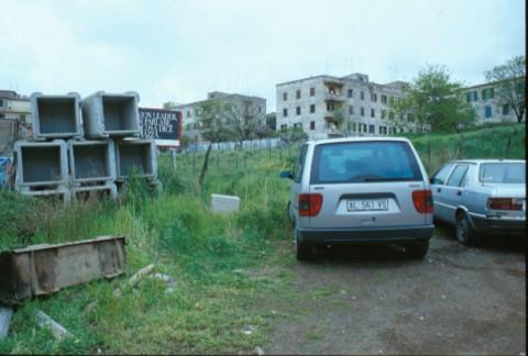 Area 1035: il terreno dove la Carta dell'Agro segnala la presenza di una villa romana