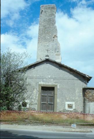 Area 1075: il complesso di Tor Tre Teste visto dalla via Prenestina