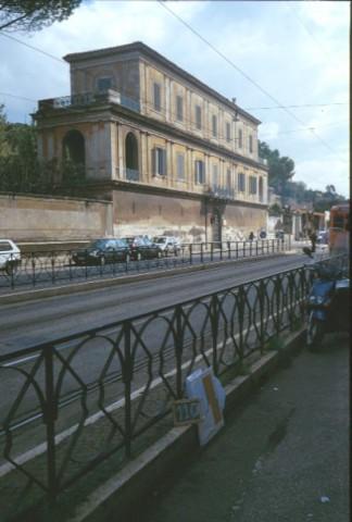 Area 110: Casina Vagnuzzi vista da via Flaminia
