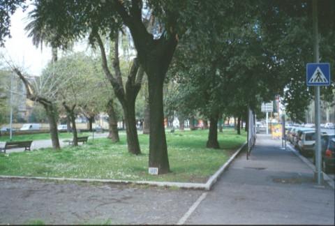 Area 115: il giardino pubblico dove dovrebbero collocarsi i resti