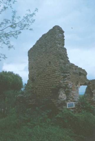 Area 1158: particolare della torre