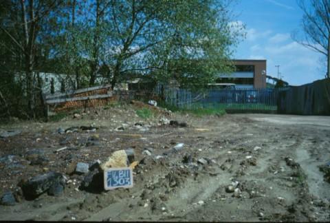 Area 1303: il terreno che circonda la caserma Angelo Paolucci