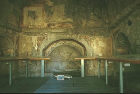 Area 1313: l'interno del sepolcro dei Nasoni