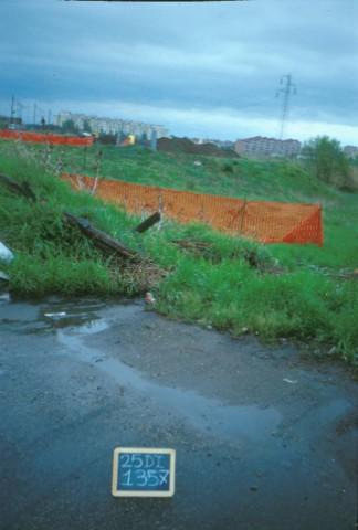 Area 1357: l'interro sotto il quale si trova la necropoli
