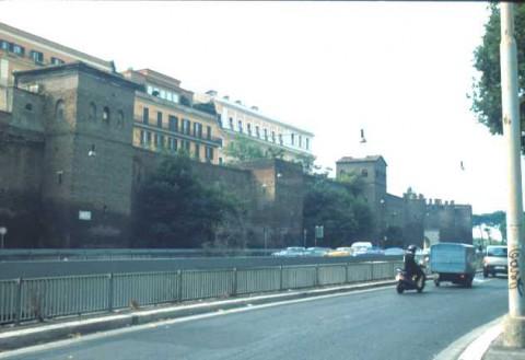 Area 156: il tratto Bb delle mura Aureliane
