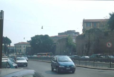 Area 156: il tratto Bh delle mura Aureliane