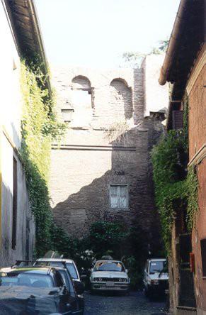 Area 156: il tratto C delle mura Aureliane