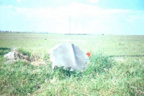 Area 4070: il basolo non più in situ