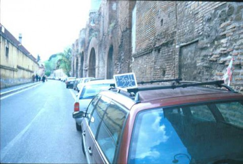 Area 4905: il tratto B dell'acquedotto Neroniano visto da via S.Stefano Rotondo