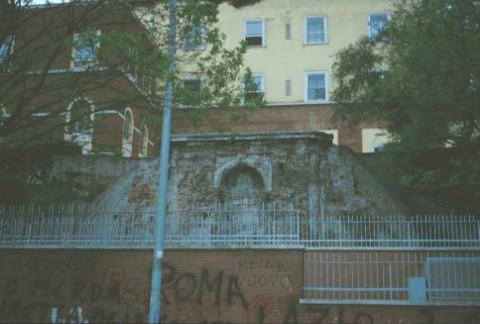 Area 639: il ninfeo all'interno della proprietà privata