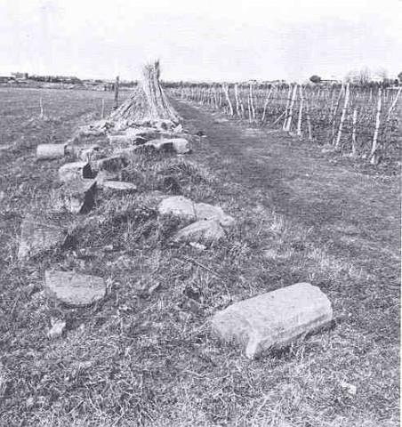 Via Latina: testimonianze dell'antico percorso (De Rossi 1979, p.48, f.43)